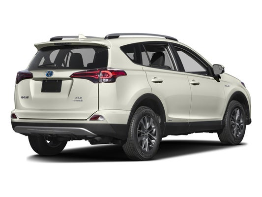 2016 Toyota Rav4 Hybrid Limited Awd W Navigation Moonroof Leather Certified